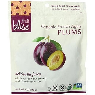 Fruit Bliss - Organic Dried Plums ( 6 - 5 oz bags)
