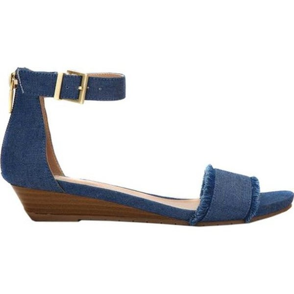 Shop Kenneth Cole Reaction Women s Great Viber Wedge Sandal Blue Denim - On  Sale - Free Shipping Today - Overstock.com - 20577545 61c3ef0e7e67