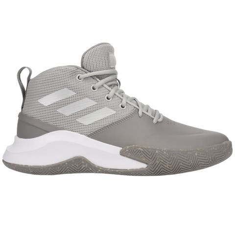 adidas Ownthegame Mens Basketball Sneakers Shoes Casual - Grey