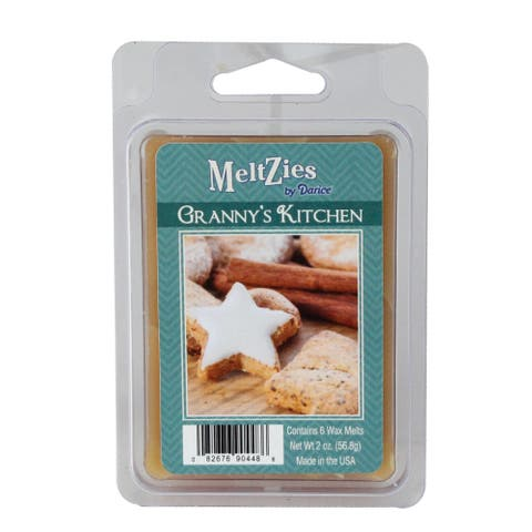Meltzies Granny's Kitchen Scented Wax Cube Melts - 2 oz. - N/A