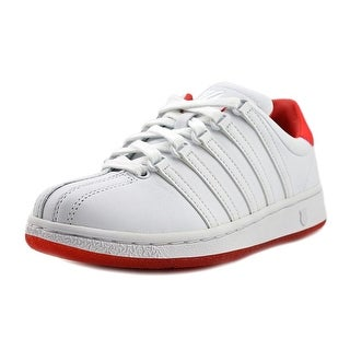 K-Swiss Classic VN  Women  Round Toe Leather White Tennis Shoe