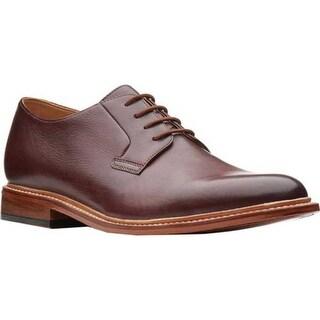 Bostonian Men's No16 Soft Low Oxford Mahogany Full Grain Leather