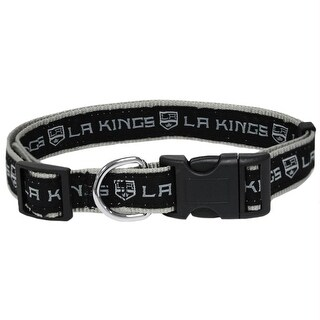 Los Angeles Kings Pet Collar by Pets First - Small