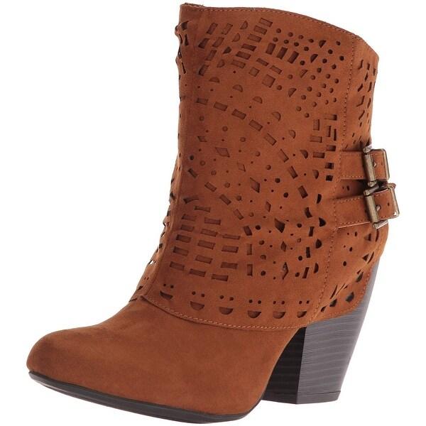 Sugar Womens Tamale Fabric Closed Toe Ankle Fashion Boots