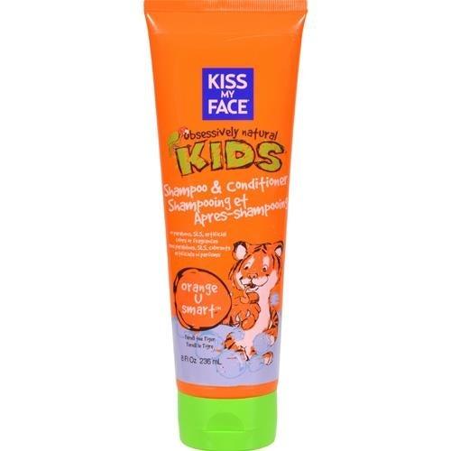 Kiss My Face - Orange U Smart Kids Shampoo And Conditioner ( 3 - 8 FZ)