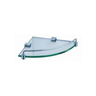 """Fresca FAC0448 Ottimo 8.5"""" Glass Corner Shelf - n/a"""