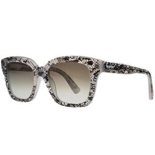 Valentino V667/S 291 Nude Lace Wayfarer Sunglasses