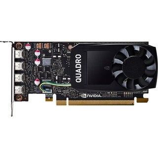 HP NVIDIA Quadro P1000 4GB Graphics Graphics Card