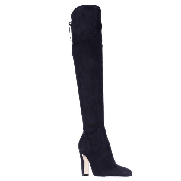 Ivanka Trump Smith Over The Knee Dress Boots, Black