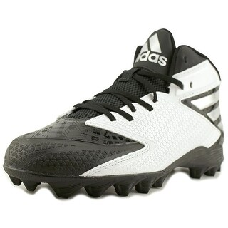 Adidas Freak Mid Men  Round Toe Synthetic White Cleats