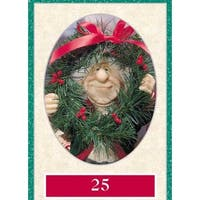 "11""  Zims The Elves Themselves #25 Collectible Christmas Elf Figure"