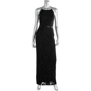 Aidan Mattox Womens Lace Prom Evening Dress