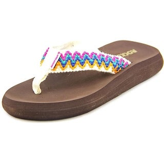 Rocket Dog Spotlight Open Toe Canvas Flip Flop Sandal