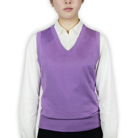 Ladies Classic Sweater Vest