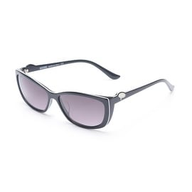 Moschino Women's Talking Bubble Sunglasses Black - Small