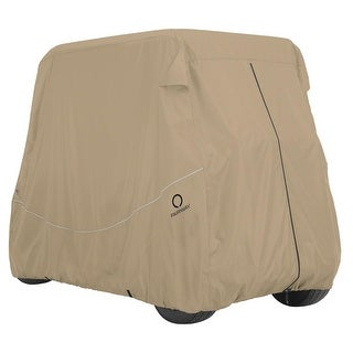 Fairway Golf Cart Quick-Fit Cover Short Roof - Khaki - 40-040-335801-00