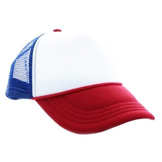 Stranger Things Red, White & Blue Mesh Trucker Cap - multi