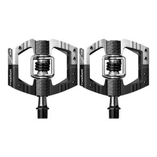 Crank Brothers Mallet E LS Long Spindle Bike Pedals (Black/Silver)