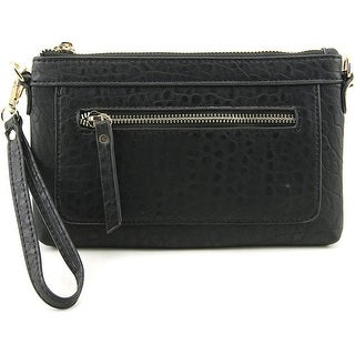Madison West Front Zip Synthetic Wristlet