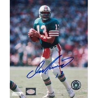 Dan Marino Signed 8x10 Photograph NFL Authenticated Marino Hologram - TEAL