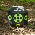 Elkton 18-Sided 3D Cube Archery Target Constructed with Rapid Self Healing XPE Foam Perfect Reusable Target for all Arrow Types - Thumbnail 4