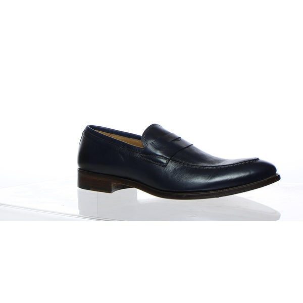 bee714336a38b Shop Gordon Rush Mens Brock Navy Leather Loafers Size 10 - Free ...