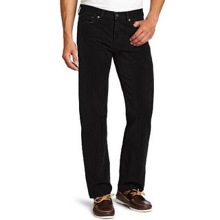 Dockers Mens Textured Flat Front Corduroy Pants - 36/30