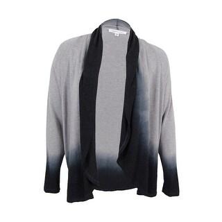 Karen Kane Women's Ombre Dye Cardigan (XL, Grey) - Grey