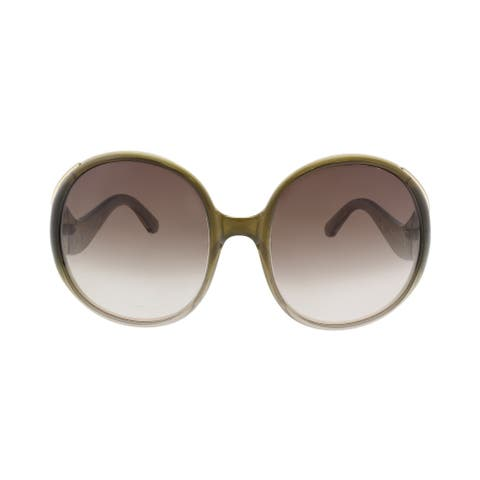 Chloe CE727S 306 Gradient Olive Cat Eye Sunglasses - 59-20-130