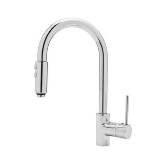 Rohl LS59L Modern Kitchen Faucet with Pull Down Spray