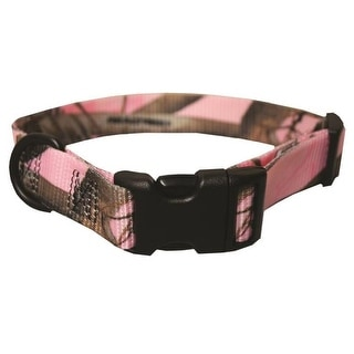 Scott Pet 1429PKLG RealTree Camo Adjustable Dog Collar, Large