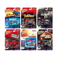 Street Freaks 2018 Release 4 Set B of 6 Cars 1/64 Diecast Models by Johnny Lightning
