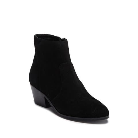 Steve Madden Womens Creek Suede Closed Toe Ankle Chelsea Boots
