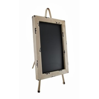 Distressed Finish Tabletop Chalkboard Easel 10 X 6 Menu Board