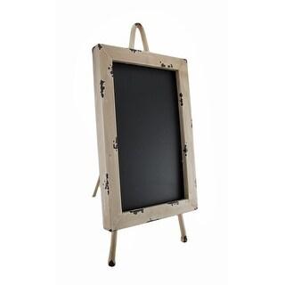 Distressed Finish Tabletop Chalkboard Easel 10 X 6 Menu Board