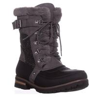 Rock & Candy Danlea Mid-Calf Winter Boots, Black/Grey