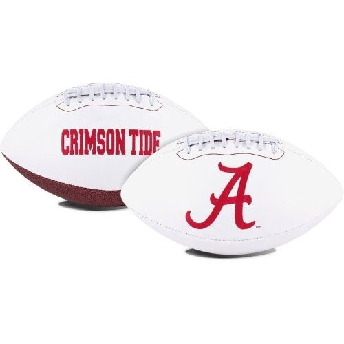 "Alabama Crimson Tide Embroidered Logo ""Signature Series"" Football"
