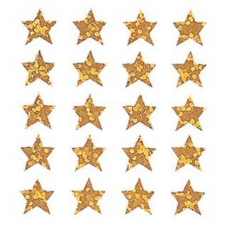 Gold Stars - Sandylion Classpak Stickers 3/Pkg