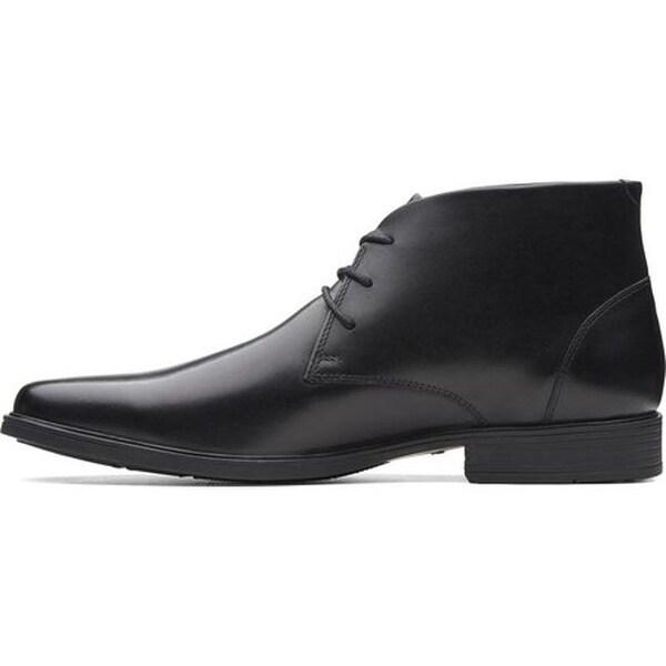 Tilden Top Chukka Boot Black