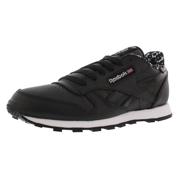 d3a7bfc7121 Shop Reebok Classic Leather Animal Juniors Shoes - Free Shipping ...