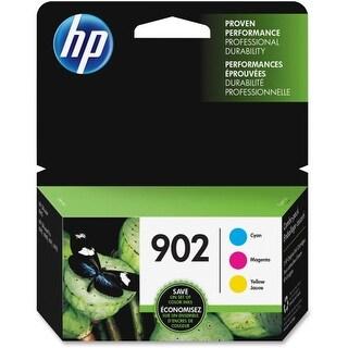 HP 902 3-pack Cyan-Magenta-Yellow Original Ink Cartridges (Single Pack) Original Ink Cartridge
