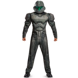 Disguise Spartan Buck Muscle Adult Costume - Multi