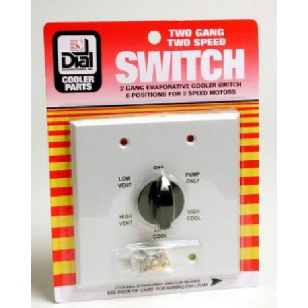 shop dial mfg 7131 2 speed evaporative cooler wall switch with 6shop dial mfg 7131 2 speed evaporative cooler wall switch with 6 position, metal free shipping on orders over $45 overstock 25325354