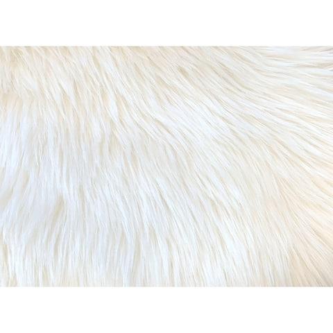 Ovella Home Premium Faux Sheepskin Plush Shag Oval Area Rug