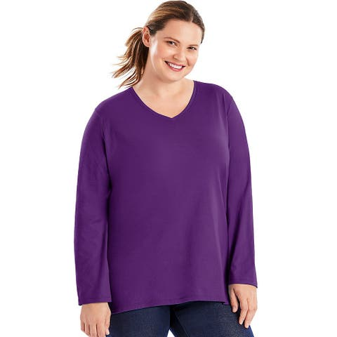15d967da Just My Size Tops | Find Great Women's Clothing Deals Shopping at ...