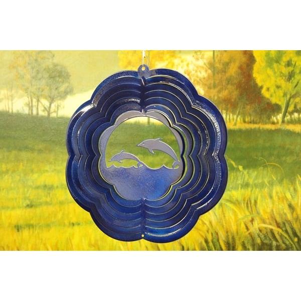 """10"""" Blue Sea Animal Wind Spinner"""