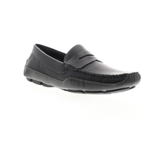 Izod Burre Black Mens Loafers & Slip Ons Casual