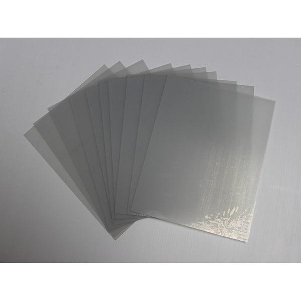 Shop 10 Sheets 11x14 040 Petg Clear Styrene Plexiglass
