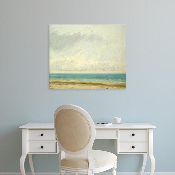 Easy Art Prints 's 'Calm Sea' Premium Canvas Art