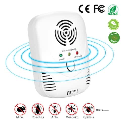 Ultrasonic Electronic Pest Repeller Mouse Repellent Plug In Pest Control for Spiders Mosquito Roach Bed Bug Ants Flea